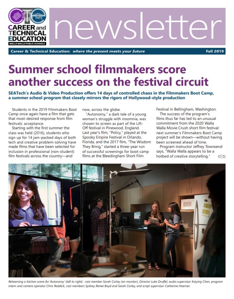 Fall CTE 2019 Newsletter
