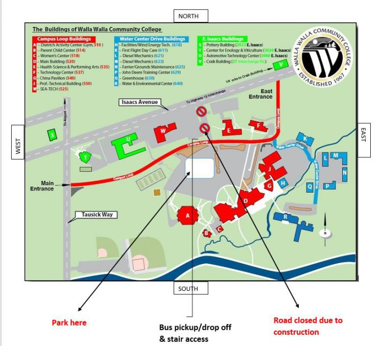 Parking Closure Sept. 10-13